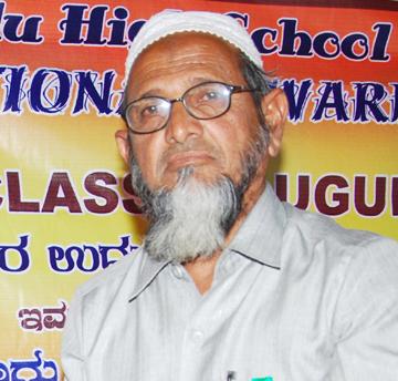 Alhaj Janab Asgaruddin Sab