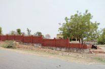 Madarsa Boundary Wall Under Construction